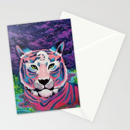 Moon River Tiger Stationery Cards