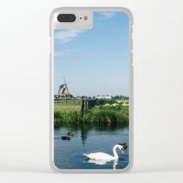 A Beautiful Dutch Scene Clear iPhone Case