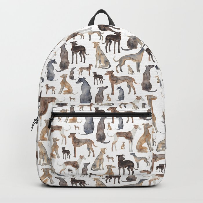 Greyhounds and Whippets Backpack