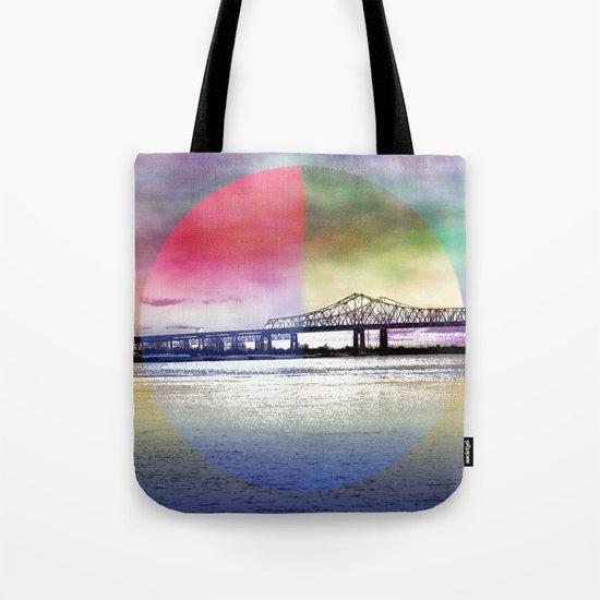 Crescent City Connection Bridge Tote Bag