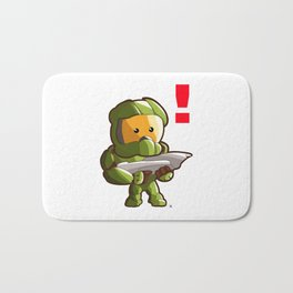 Halo Master Chief Kawaii Bath Mat