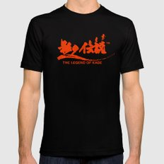 The Legend of Kage MEDIUM Black Mens Fitted Tee