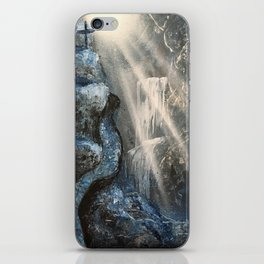 Spray Paint Waterfall Road to the Cross iPhone Skin