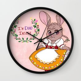 (Franc Lee) I'm Dead Inside Wall Clock