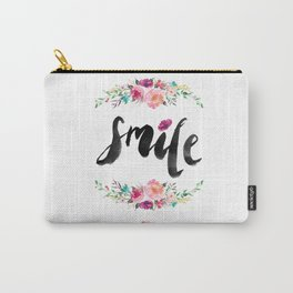 Smile. Carry-All Pouch