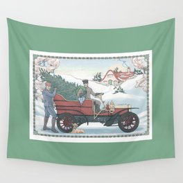 Seasons Greetings (from Steve and Bucky) Wall Tapestry