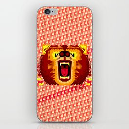 Geometric Bear 2012 iPhone Skin