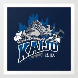 Pacific Breach Kaiju Art Print