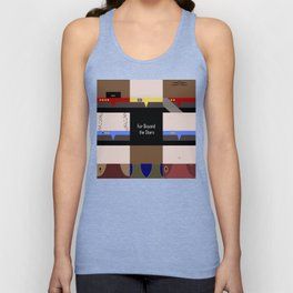 DS9 - Far Beyond the Stars - square - Minimalist Star Trek DS9 Deep Space Nine - Crew Unisex Tank Top