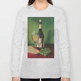 White wine, Still life Long Sleeve T-shirt