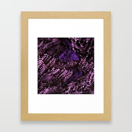 Melted Gems Framed Art Print