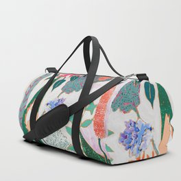 Speckled Garden Duffle Bag