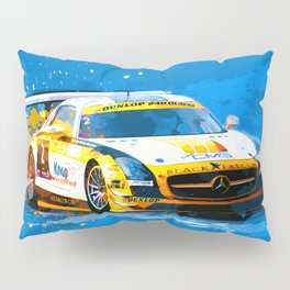 GT3 Series Race Car Pillow Sham