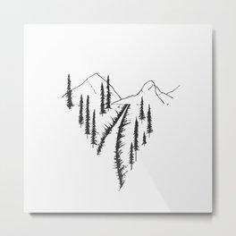 Naturheart Metal Print
