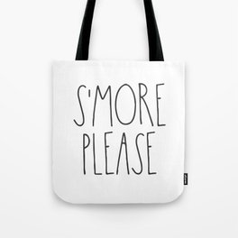 S'more Please Tote Bag