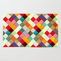 3d Area & Throw Rugs featuring Pass this On by Danny Ivan