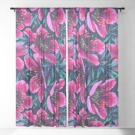 flower ffffound Matthew Williamson Sheer Curtain