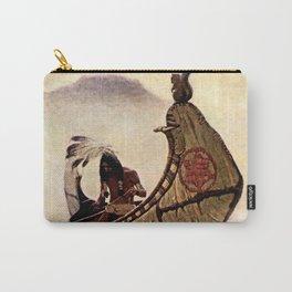"N C Wyeth Vintage Western Painting ""Hiawatha"" Carry-All Pouch"