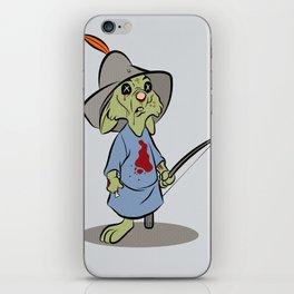 Skippy the Zombie iPhone Skin