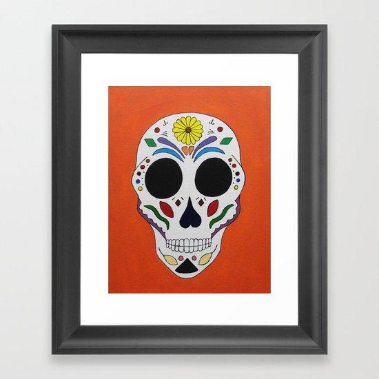Sugar Skull #1  Framed Art Print