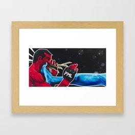 Rock Em Sock Em MMA / FML Framed Art Print