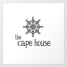 The Cape House - Wheel Life Art Print