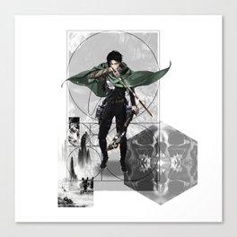 Captain Levi Attack on Titan Shingeki no kyojin Canvas Print