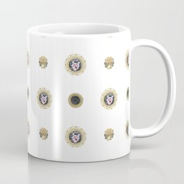 Vintage fabric design01 Coffee Mug