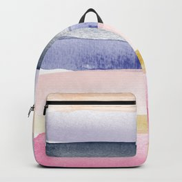 Brushstroke Ombre Abstract Backpack