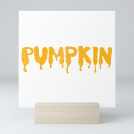 PUMPKIN Mini Art Print