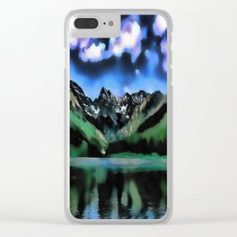 Tectonic Force Clear iPhone Case