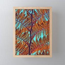 Exotic Tree crossing Framed Mini Art Print