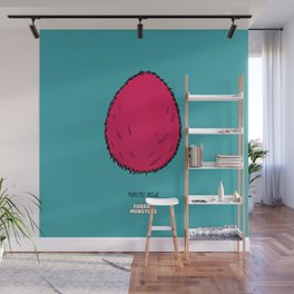 Pink Egg Wall Mural