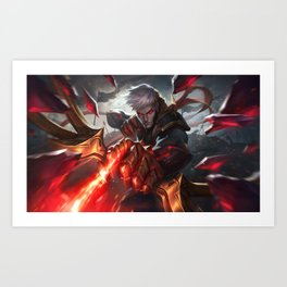 Conqueror Varus League Of Legends Art Print