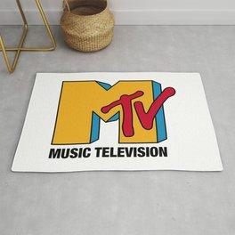 MTV Classic Logo Rug