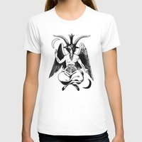baphomet T-shirts featuring BAPHOMET by carolin walch