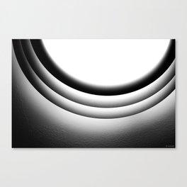 Circular light Canvas Print