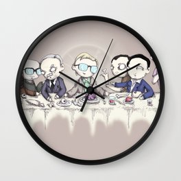 The Last Cannibal Supper Wall Clock