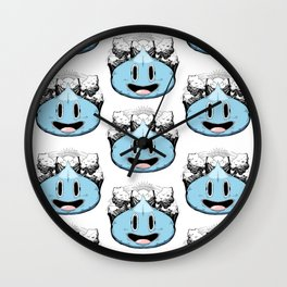 The Least Expensive Slime (Blue) Wall Clock