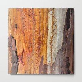 Tree Bark Abstract # 16 Metal Print