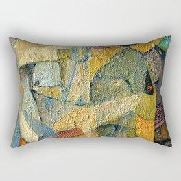 Dance of Colours, Birth of Shape Rectangular Pillow