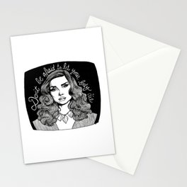 Don't Be Afraid to Let Your Body Die Stationery Cards