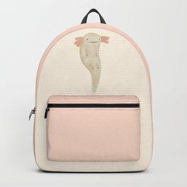 Floating Axolotl Backpack