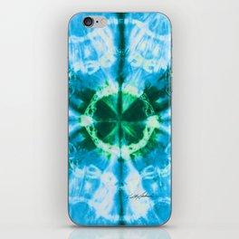 Boho Blue Bloom iPhone Skin