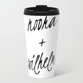 Noora+William Travel Mug
