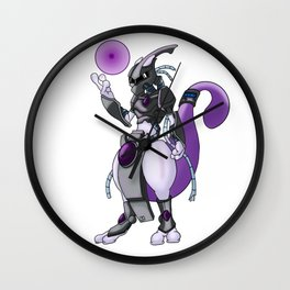 Armored Mewtwo Wall Clock