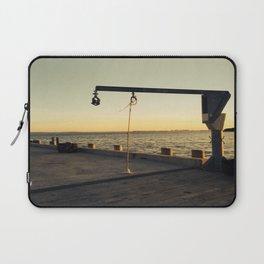 Natant Wharf Laptop Sleeve