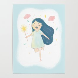 Wish on a Fairy Poster