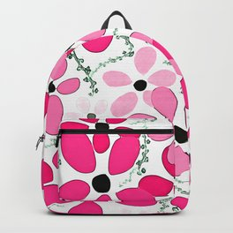 Pink Flower 13 Backpack