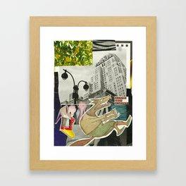 Awooo Framed Art Print